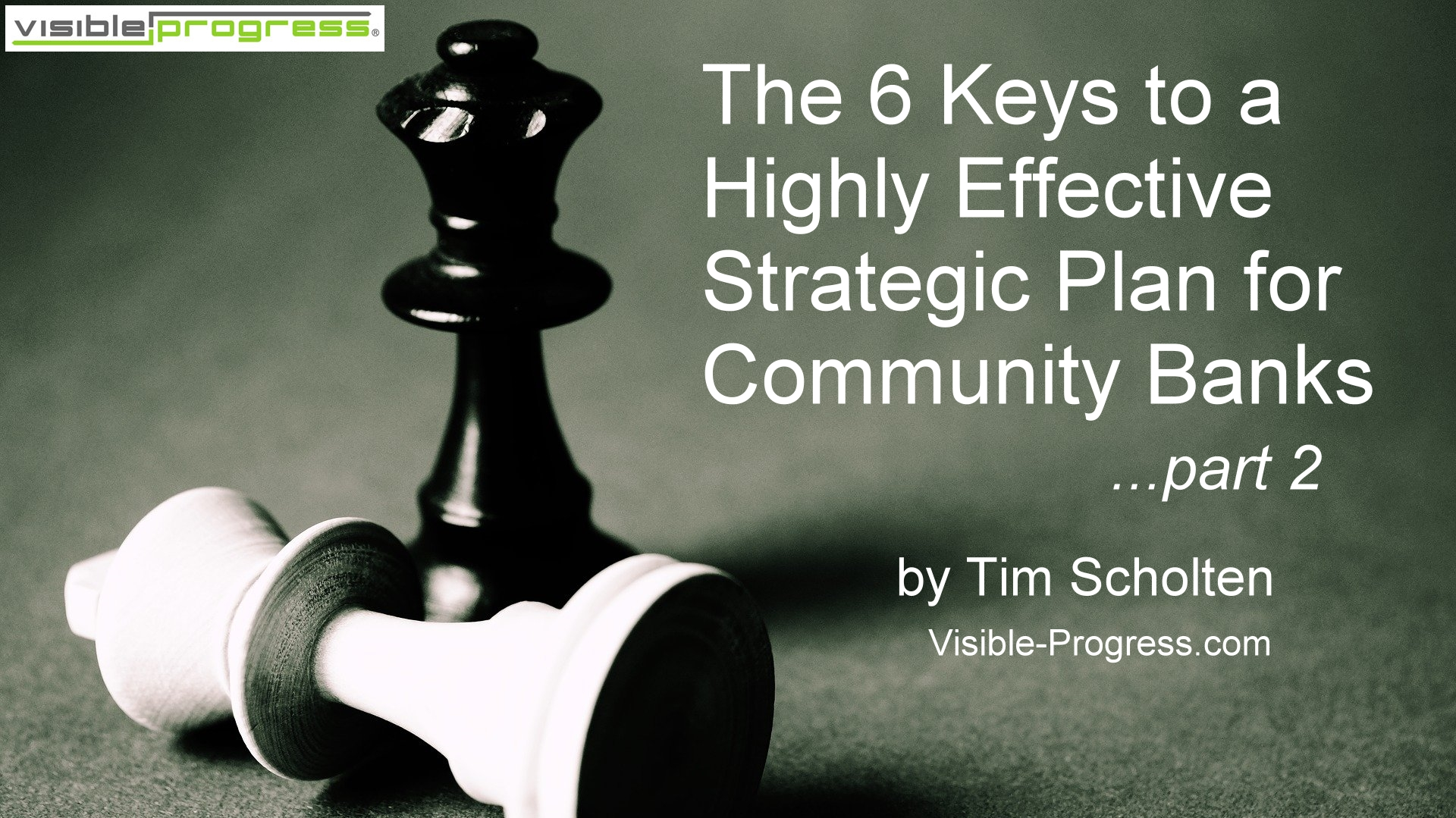 6 keys strategic plan for community banks